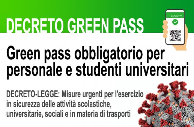 Collegamento a DECRETO GREEN PASS